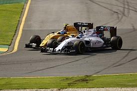 Jolyon Palmer, Valtteri Bottas, Williams, Renault, Australian GP F1 2016