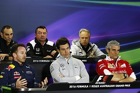 F1 team bosses, Australian GP 2016