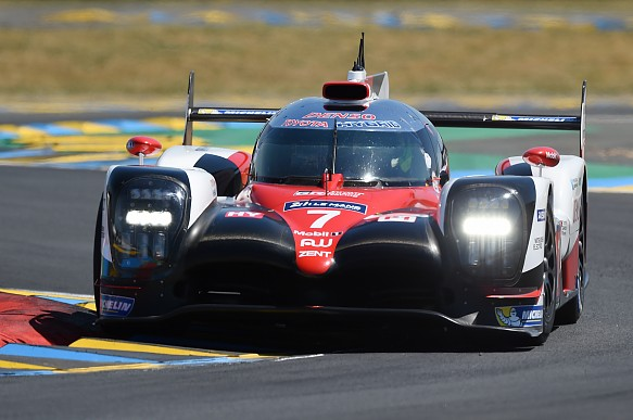 Mike conway #7 Toyota Le Mans 24 Hours 2017