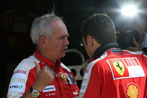 Rory Byrne and Stefano Domenicali