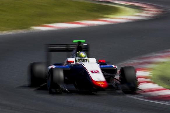 Dorian Boccalacci, Trident, Barcelona GP3 test 2017