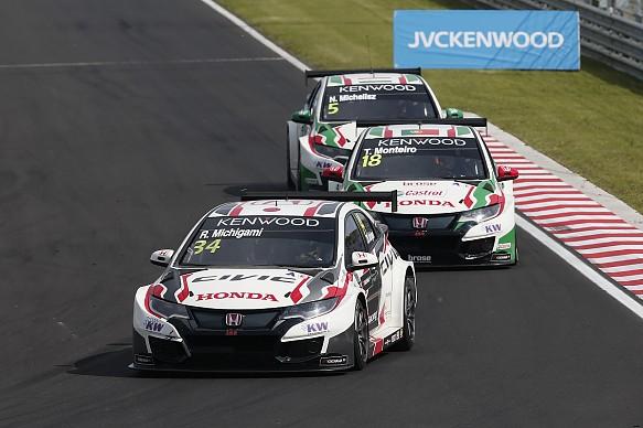 Honda MAC3 Hungaroring WTCC 2017
