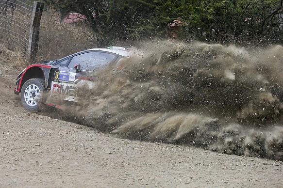 Elfyn Evans WRC Mexico 2017