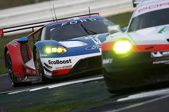Porsche and Ford GTE, Silverstone WEC 2017