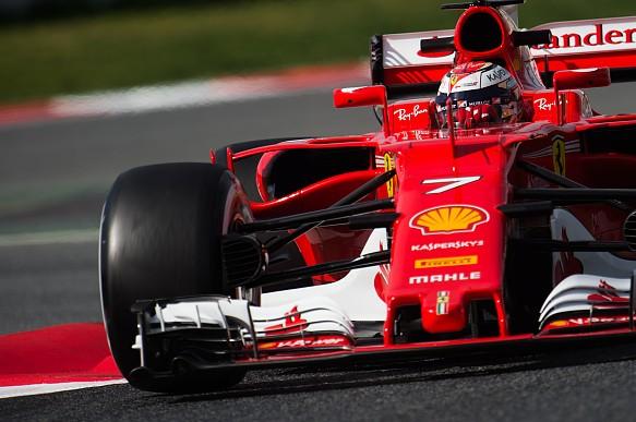 Raikkonen, Ferrari, testing