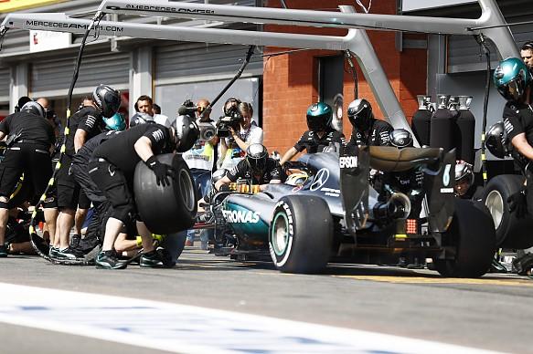 Lewis Hamilton Belgian GP F1 2016 Mercedes