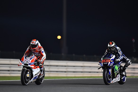 Andrea Dovizioso, Ducati, Qatar MotoGP 2016