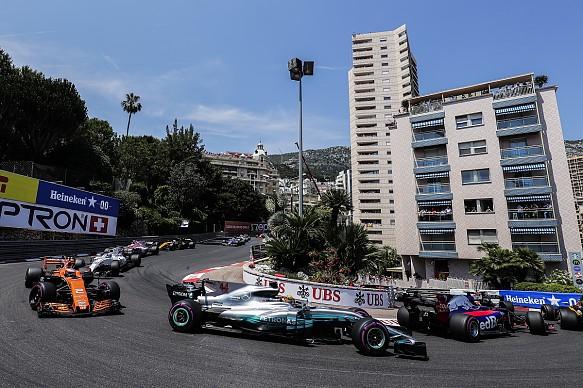 Lewis Hamilton Mercedes Monaco Grand Prix