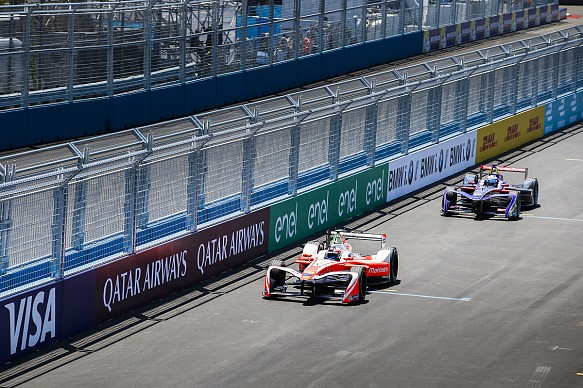 Felix Rosenqvist Mahindra New York Formula E 2017