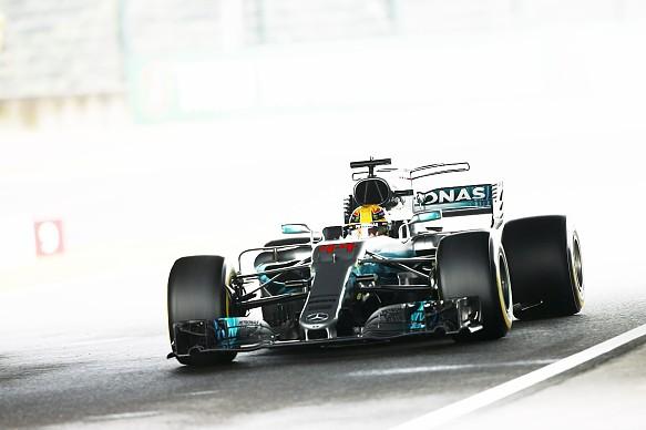 Lewis Hamilton Mercedes Japanese GP F1 2017