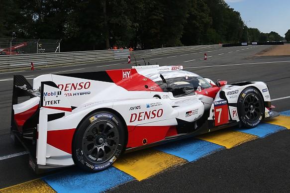 #7 Toyota Le Mans 24 Hours 2017