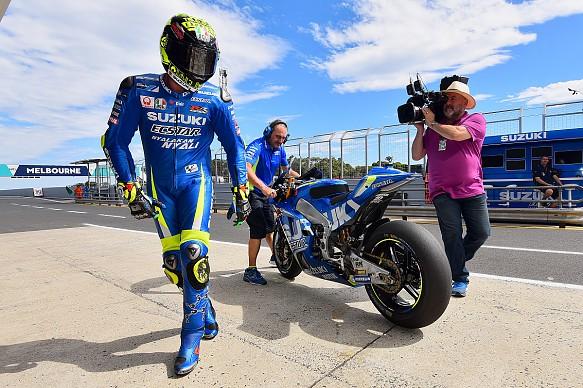 Iannone, Suzuki, testing