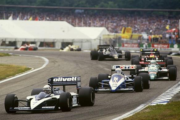 Brabham Ligier Benetton Ferrari Lotus F1 1986