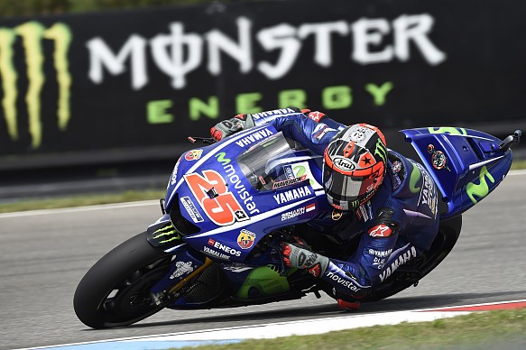 Maverick Vinales Yamaha Brno MotoGP 2017