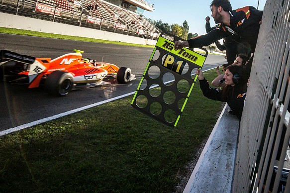 Tom Dillmann wins Formula V8 3.5 title 2016 Barcelona