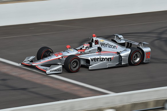 Power, Indy 500 testing