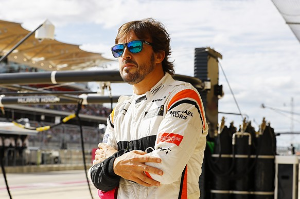Fernando Alonso McLaren US GP 2017