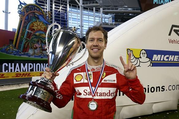 Sebastian Vettel Race of Champions 2017