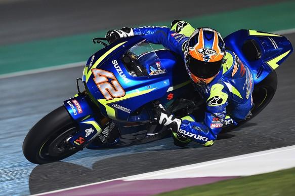 Alex Rins, Suzuki