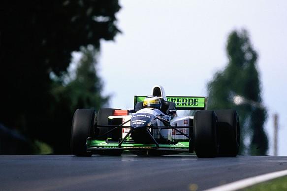 Giancarlo Fisichella Minardi F1 1996