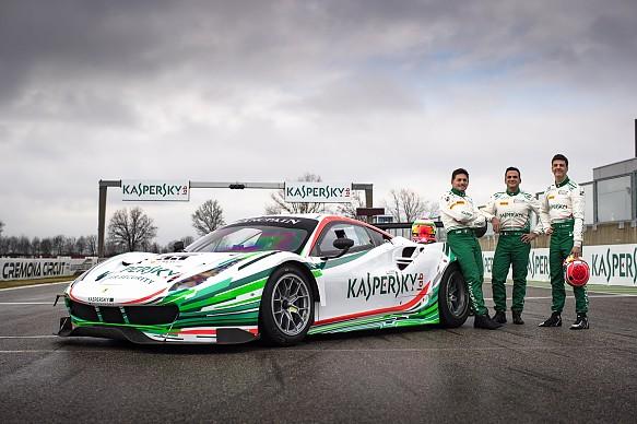 Kaspersky Ferrari Blancpain line-up