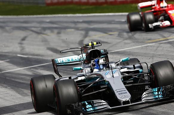Bottas Vettel Austrian Grand Prix 2017