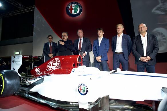 Sauber Alfa launch