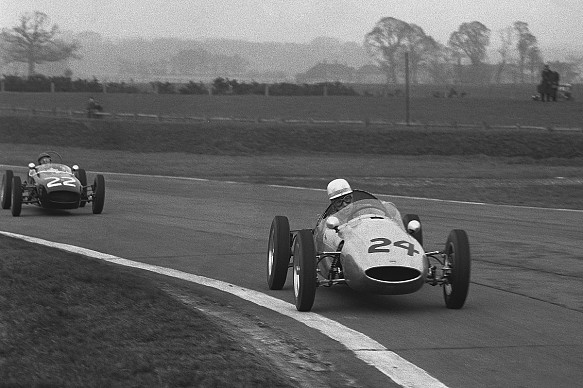 John Surtees Jim Clark Goodwood 1960