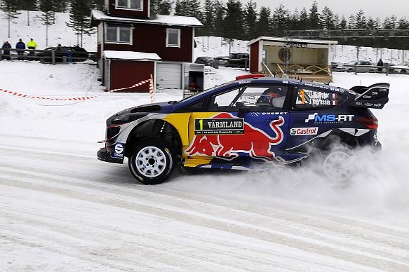 Sebastien Ogier WRC Sweden 2017