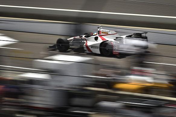 Sebastien Bourdais Dale Coyne Indianapolis 500 practice 2017