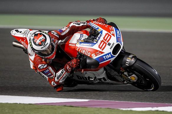 Lorenzo, Ducati, Qatar