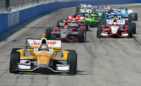Ryan Hunter-Reay IndyCar 2012
