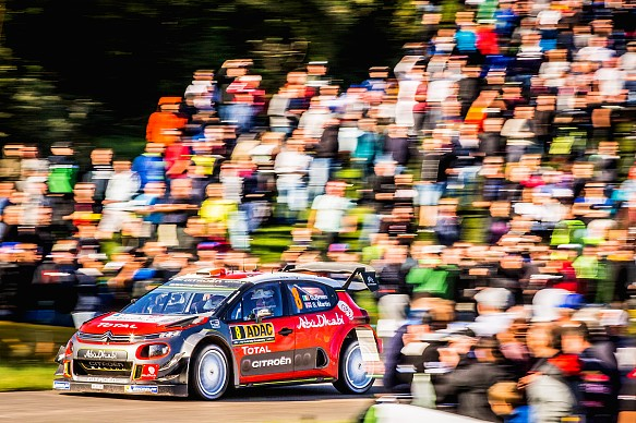 Craig Breen WRC Germany 2017