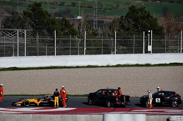 Palmer, Renault, testing