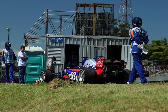 Brendon Hartley Toro Rosso Brazil F1 2017