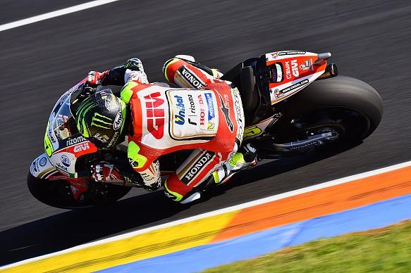 Cal Crutchlow, Valencia MotoGP test