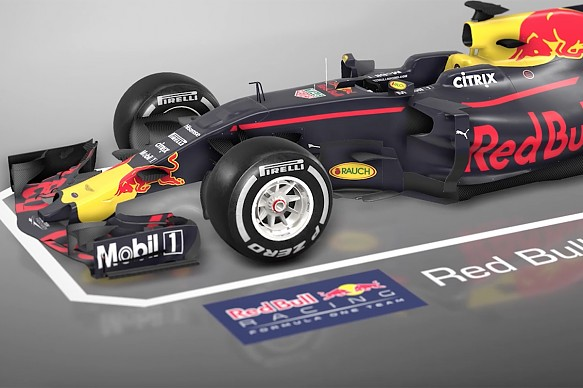 Red Bull RB13 tech animation Hungarian GP