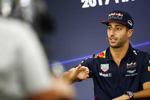 Daniel Ricciardo Red Bull F1 2017