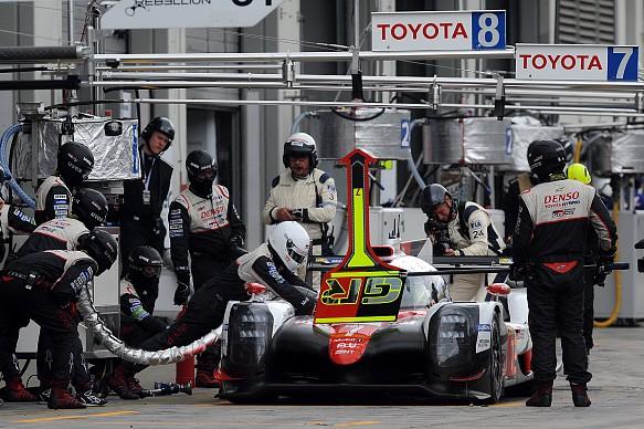 Toyota Nurburgring WEC 2017