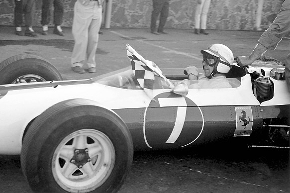 John Surtees 1964 world champion F1