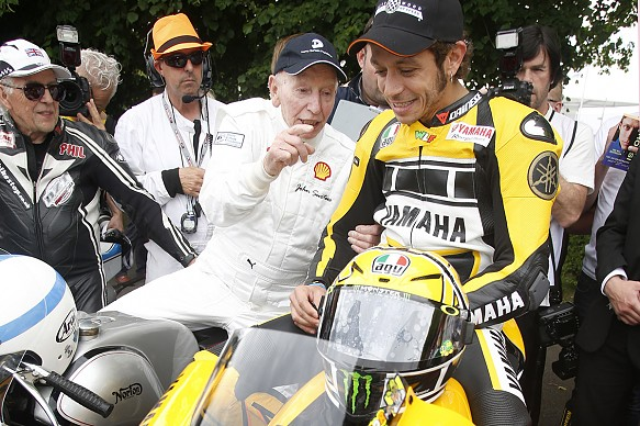 Rossi, Surtees, Goodwood 2015