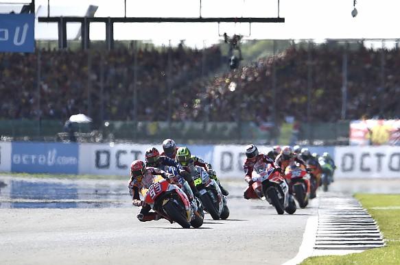 Marc Marquez Honda Silverstone MotoGP 2017