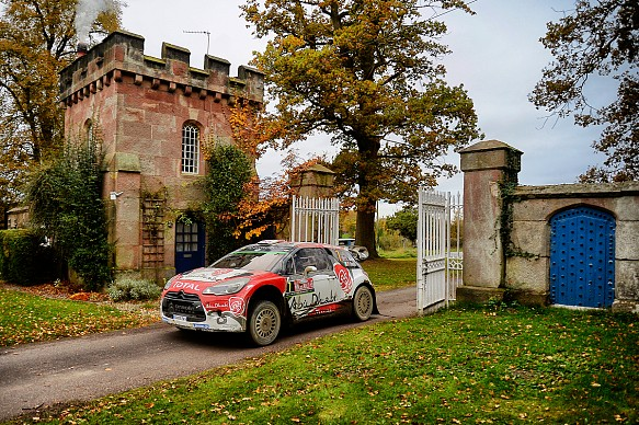 Cholmondeley Castle Rally GB 2016