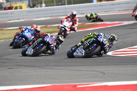 Rossi Lorenzo Misano MotoGP