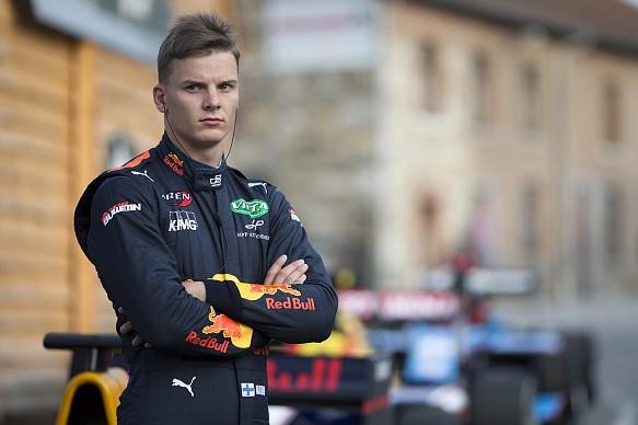 Niko Kari Red Bull GP3 2017