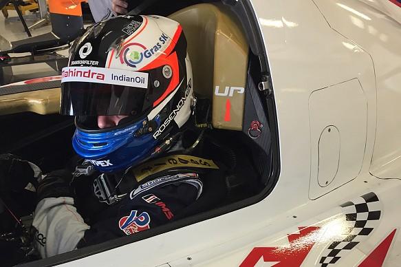 Felix Rosenqvist DragonSpeed LMP2 test