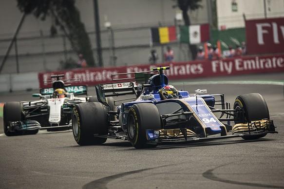 Pascal Wehrlein Sauber F1 2017