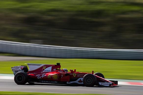 Kimi Raikkonen, Ferrari, Formula 1 pre-season testing Barcelona 2017