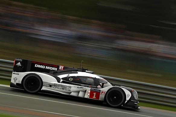 #1 Porsche 919 Hybrid, Le Mans test day 2016