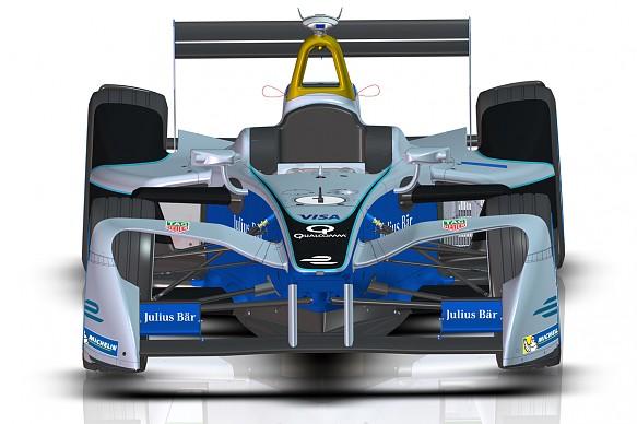 Formula E wings